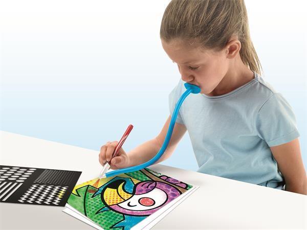 Maped Creativ fújós filctoll készlet Blow pen Art csíkos 846715