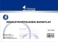 Anyag-eszköz kivételezés bizonylat B.12-114/V