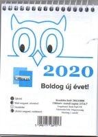 naptár asztali 21 TA 2020-as