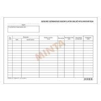 -szigorú számadású nyomtatványok nyilvántartása D.13-74