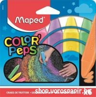 Maped aszfaltkréta Color'Peps 6db-os 936010