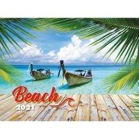 naptár fali TO93-24 Beach 32*40,5cm