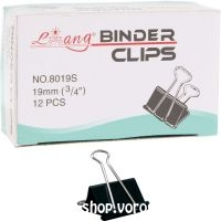 Binder csipesz 19 mm