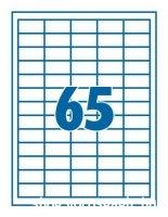 etikett cimke 38,1x21,2 65db-os