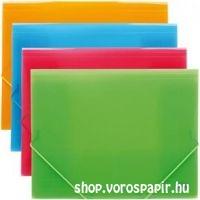 Deli gumis mappa A/4 39504 élénk színek