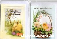 képeslap húsvéti boritékos