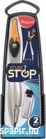 Maped körzőkészlet Study Stop 2db rögzíthető lábakkal 195110