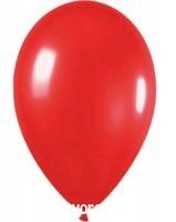 léggömb 25cm piros ELU253
