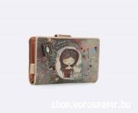 ANEKKE JANE pénztárca patentos 14x2x10cm EPT349 28869-02