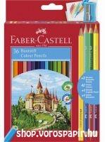 FC színesceruza 36-os+3db kétvégű 110336