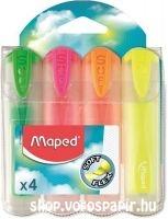 Maped szövegkiemelő Fluo Peps 4-es klt 745947