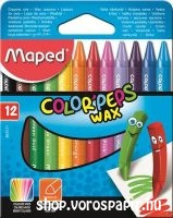 Maped zsírkréta Color'Peps 12-es Wax 861011