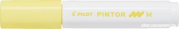 Pilot Pintor marker vízbázisú M pasztell sárga