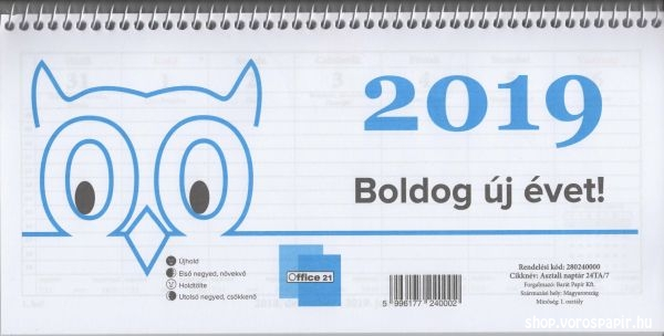 2019 asztali naptár naptár asztali 24 TA 2019 es   naptárak, határidőnaplók  2019 asztali naptár