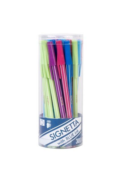 Signetta golyósirón színes 30 db-os