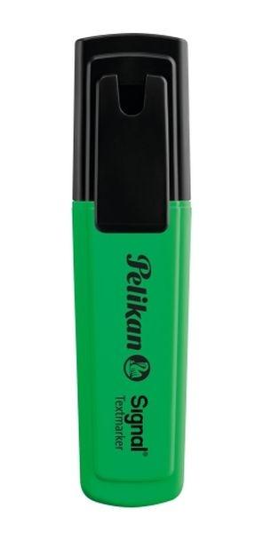 Pelikan szövegkiemelő Signal zöld 00803588
